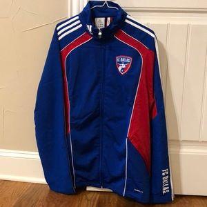 FC Dallas Climalite Presentation Jacket